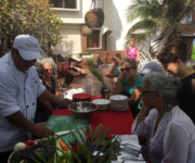 Cooking class at Amansala Eco Chic Hotel, Tulum, MX