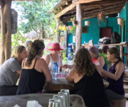 Lunch hosted by a Mayan family in the Yucatan, MX